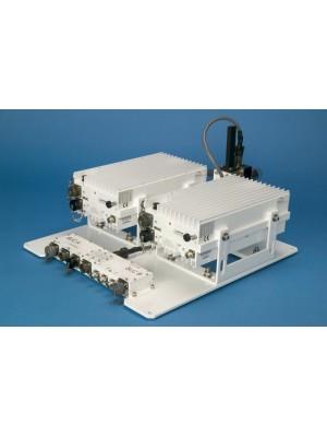 Amplifier, IBUC Ku-band redundancy switching system