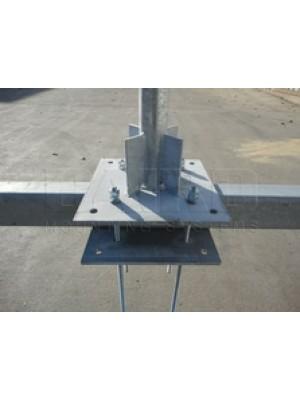 "Antenna Universal Beam Mount Baird 2.37"" O.D. x 3' Mast"