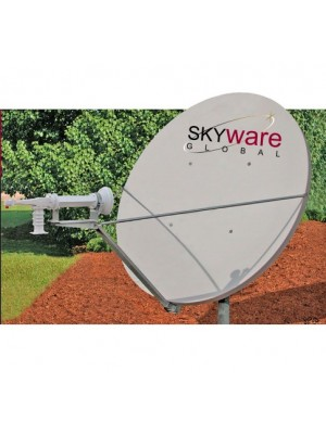 Antenna,Mobile, 1.8m RxTx Class III C-Band Circular Type 183 Offset Antenna System
