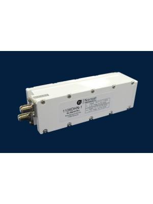 LNB, Ku-Band, PLL, Simultaneous, 10.95 - 11.70, 11.70 - 12.75 GHz, L.O. Stability +/- 010 KHz, Noise Figure 0.8 dB, F-Connector