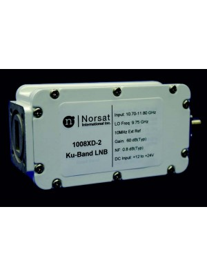 LNB, Ku-Band, PLL, Single-Band, 11.70 - 12.75 GHz, L.O. Stabilty EXT. REF. , Noise Figure 0.8 dB, F-Connector
