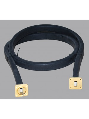 Accessories,Ku-Band flexible waveguide, WR-75, cover-grooved, 6ft.