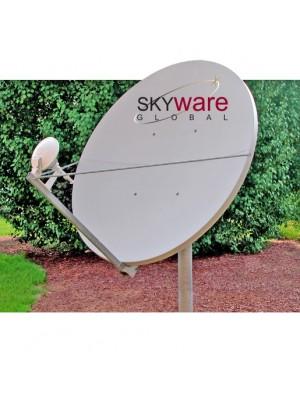 Antenna,Mobile, 2.4m RxTx Ku-Band Type 244 Dual Optics Antenna System