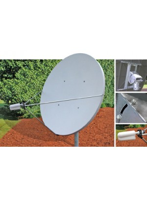 Antenna,Fixed, 2.4m -C-Band, Linear Antenna, Receive Only