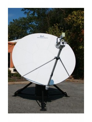 Antenna, Fly-away, C-Band/Ku-Band,Quad-Band SNG/Military, Manual, 2.4m