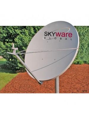 Antenna, 2.4m RxTx Class III Ku-Band Type 243 Offset Antenna System, Cross Pol
