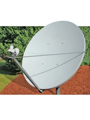 Antenna,Mobile, 2.4m RxTx Class III C-Band Linear Type 243 Offset Antenna System