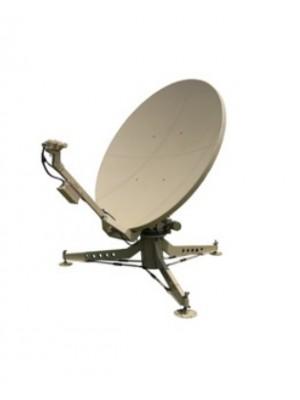 Antenna,Mobile,2.4m C-Band Circular Motorized Flyaway Celero Class Antenna