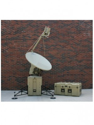 Antenna, Fly-away,Ku-Band,Mobile VSAT, Motorized Transportable, 1.2m