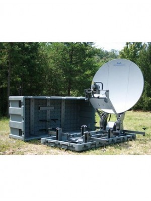 Antenna, Fly-away and Drive-away,Ku-Band, Mobile VSAT,1.2m