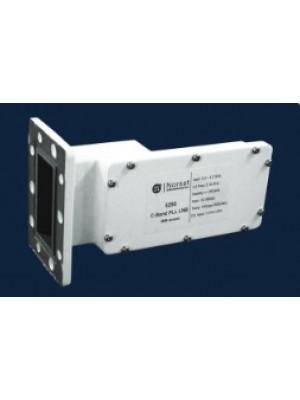 LNB, C-Band, PLL, Single-Band, 4.50 - 4.80 GHz, L.O. Stabilty +/-150 KHz, Noise Figure 15K, F-Connector