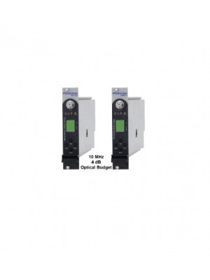 Fiber IFL,PL7130T1550 and PL7130R4 10MHz Reference Signal RF Link High Power Input, 4 dB Optical Budget