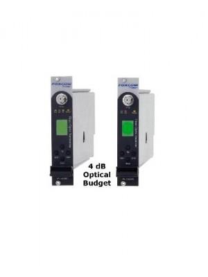 Fiber IFL,PL7440T and PL7440R4 RF Link Wide Power Range, 4dB Optical Budget 8Km - 1310nm or 15Km - 1550nm