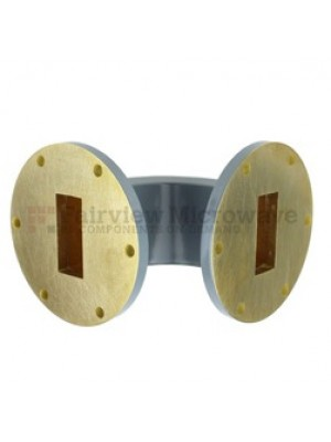 Waveguide, E-Bend, 90 Degreee, WR-137, C-Band