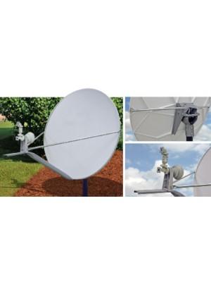 Antenna Fixed, 1.2m Ku Band, Cross Pol Antenna, RXTx