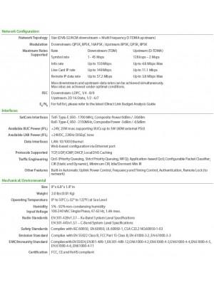 X1 w/iDirect Universal 3W + Universal PLL (DiSEqC) Ku‐band Bundle